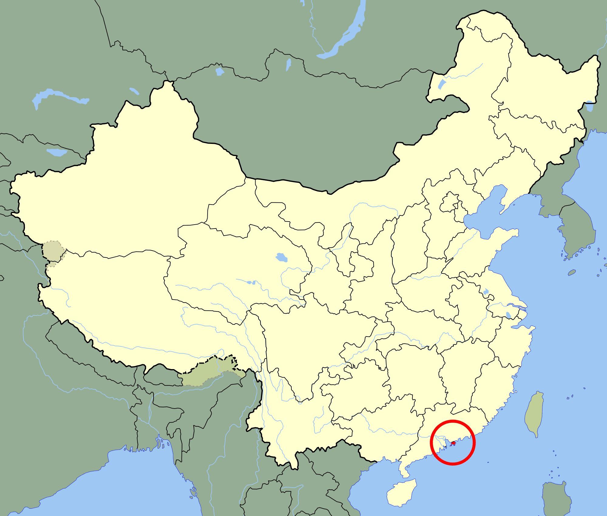 hong kong karta Hong Kong på karta   Hongkongmap (Kina) hong kong karta